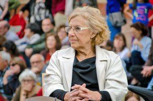 Manuela Carmena: «Los ciudadanos cada vez quieren elegir más a personas y no optar por ideas»