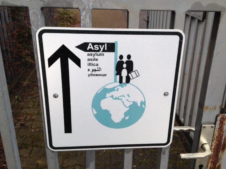 Schild Asyl
