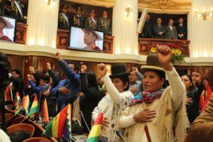 Presidente boliviano destaca el empoderamiento político de mujeres, indígenas y jóvenes en 11 años
