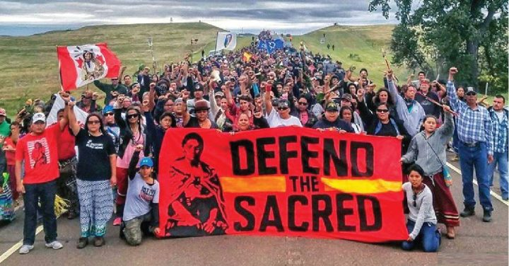 Joseph Hock, ακτιβιστής στο Standing Rock: η πνευματικότητα είναι το κίνημά μας