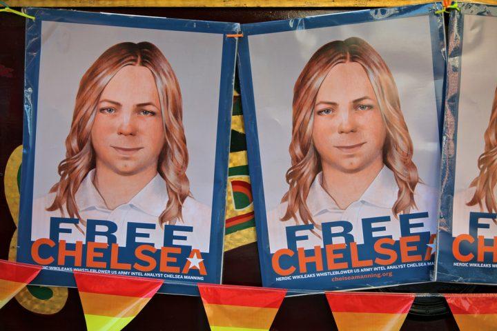 Chelsea Manning libera, finalmente!