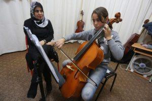 Gaza: Mozart und Fairuz gegen Kriegstraumata