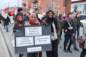Comunità del mondo arabo in Italia: no al bando di Trump, solidarietà ai musulmani canadesi