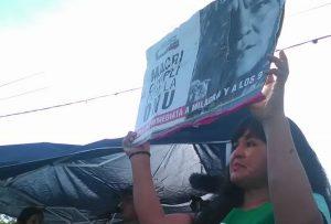 Le combat 'vivant' de la Tupac Amaru. La 'soupe populaire' devant la prison de Alto Comedero