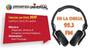 Congreso Nacional Indígena de México y Alemania en @RadioPressenza