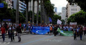 Rio de Janeiro: atto di fronte all'Assemblea Legislativa segna l'inizio delle proteste del 2017