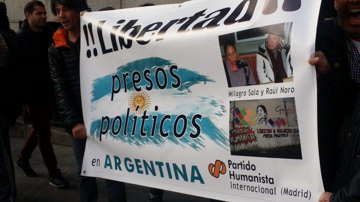 También Macri se ha encontrado con protestas al recibir la Llave de Madrid