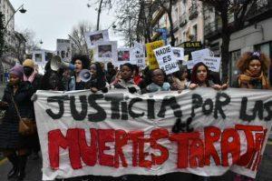 Madrid reclama justicia por las muertes del Tarajal