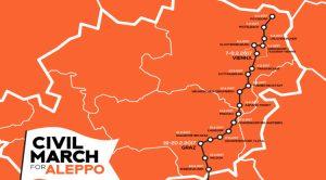 La Marche Civile pour Alep arrive en Autriche