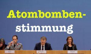 Deutschland weigert sich, über Atomwaffen zu verhandeln