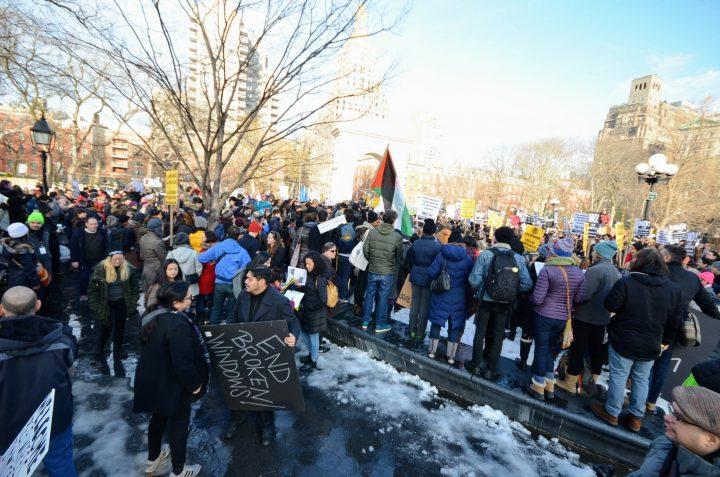 Rally de inmigrantes: estamos aquí para quedarnos, y no nos vamos