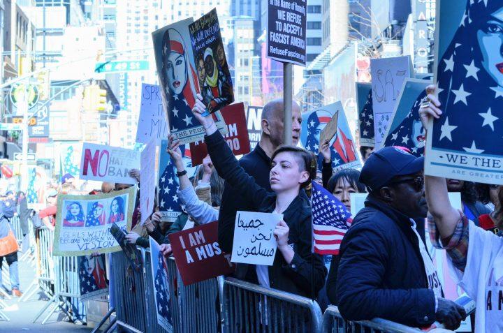 Manifestación en la Ciudad de Nueva York: «Yo también soy musulmán»