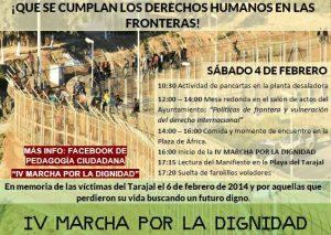 4F. Marcha por la dignidad a Tarajal (Ceuta)