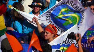 Première marche pour la paix en Amérique centrale : Un enthousiasme contagieux