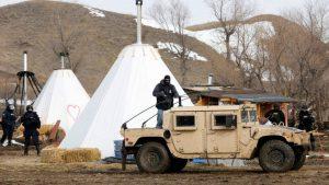 North Dakota: Police Raid Pipeline Resistance Camps, Arresting 33