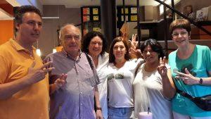 Alba Fernández y otros referentes humanistas visitaron a Milagro Sala