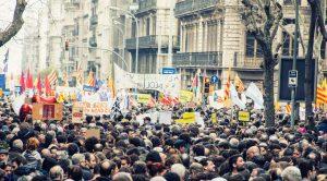 Barcelona – Eine Stadt demonstriert für Flüchtlinge