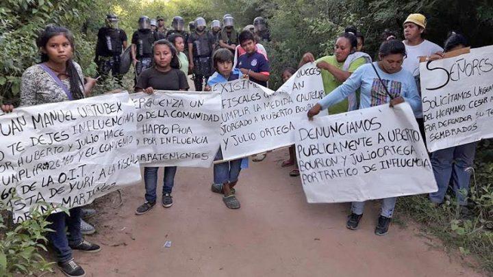 Embarcación, Salta: Comunidades resisten atropello de empresario francés y de Urtubey
