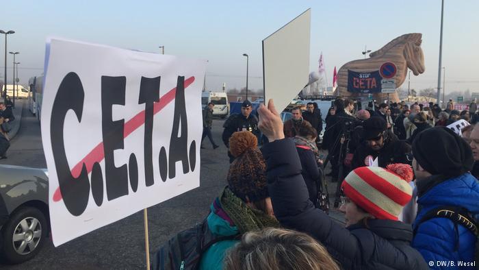 Finale Schlacht um CETA im EU-Parlament
