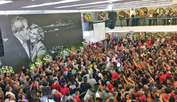 Lula: Agora o céu ganha a estrela que iluminou a minha vida