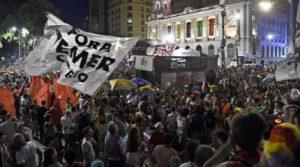 Protestan en carnavales de Brasil contra Michel Temer