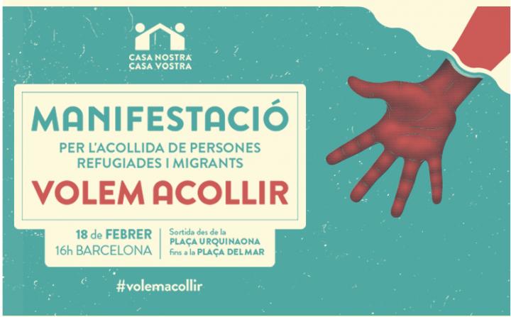 Rappresentanti dei Comuni catalani per l'accoglienza ai profughi