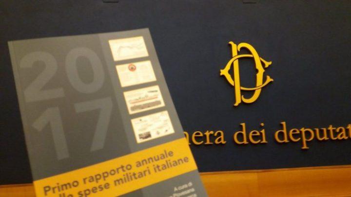 Presentato il Rapporto MIL€X 2017 sulle spese militari italiane