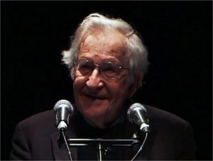 Vidéo de l'intervention de Chomsky à Paris (11/2016)
