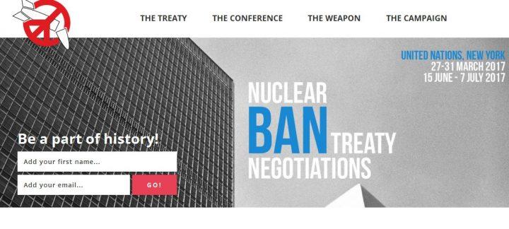 Una settimana di azione per la messa al bando delle armi nucleari