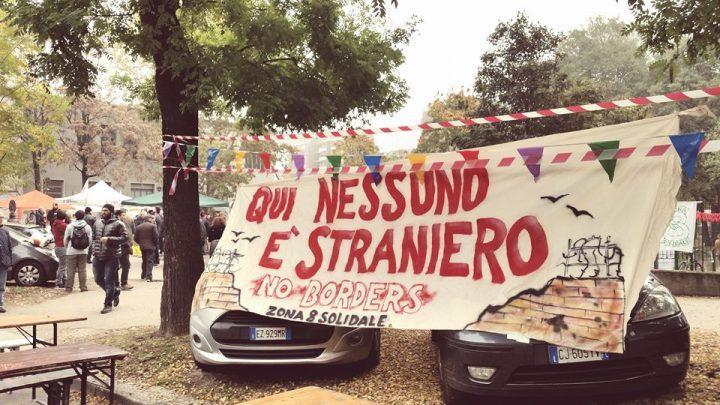 Milano, il Comitato Zona 8 Solidale va in scena al Portello!
