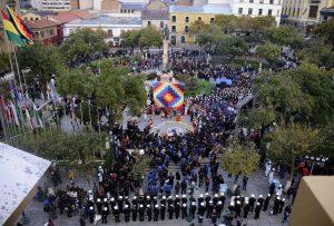 Morales encabeza ritual andino que pide que Bolivia retorne al mar con soberanía