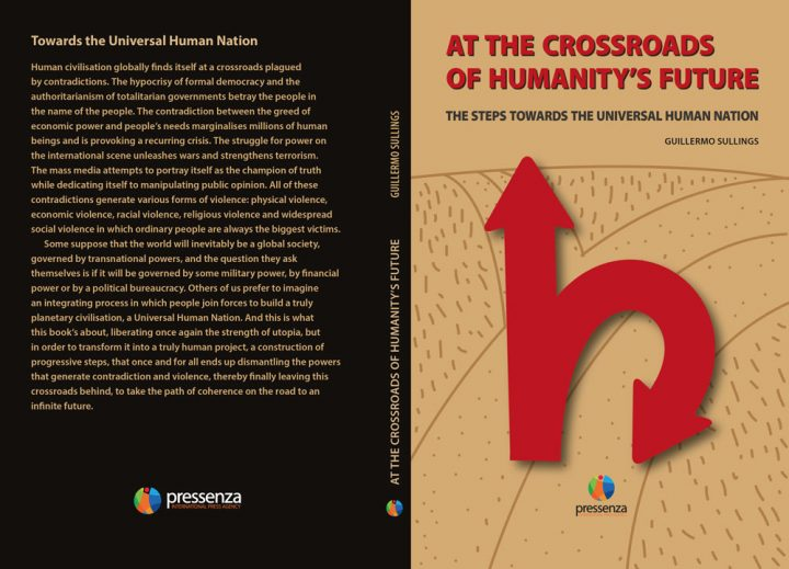 """Revolutionary book """"At the Crossroads of Humanity's Future"""" published in English"""