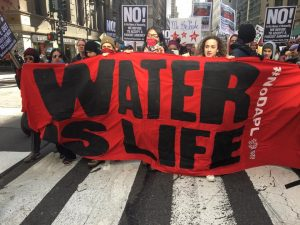 March in New York for Standing Rock