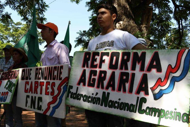 Paraguay: marcha campesina e massacro di Curuguaty