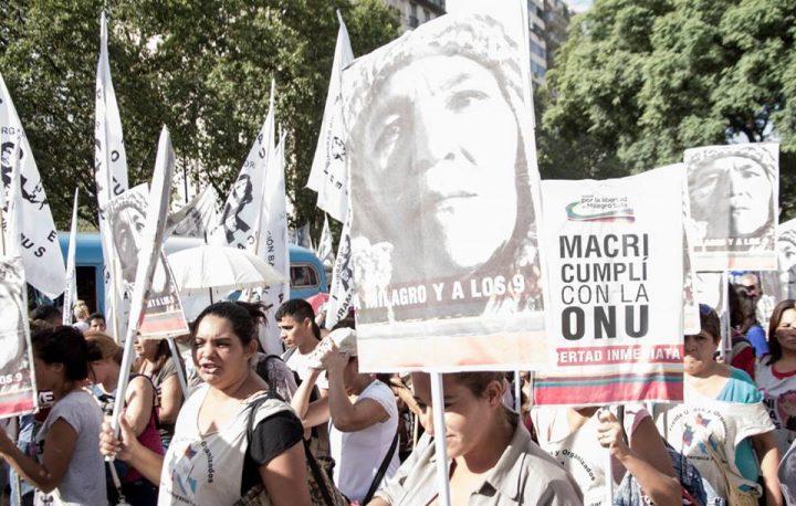 """""""Que las compañeras sigan militando porque la Argentina nos necesita"""" Milagro Sala"""