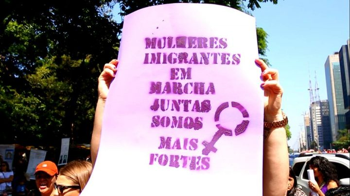 Neste 8 de março as imigrantes e refugiadas dizemos basta!