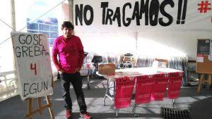 Huelga de hambre contra los recortes en la renta de garantía de ingresos