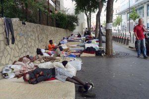 Calais Migrant Camp Closure Drives Refugees To Paris Streets