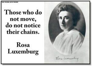 Η πιο επαναστατική πράξη είναι και θα είναι να λες πάντα δυνατά την αλήθεια