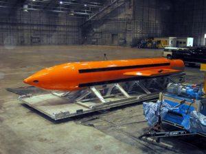 Afghanistan: gli USA lanciano per la prima volta la più potente bomba non nucleare