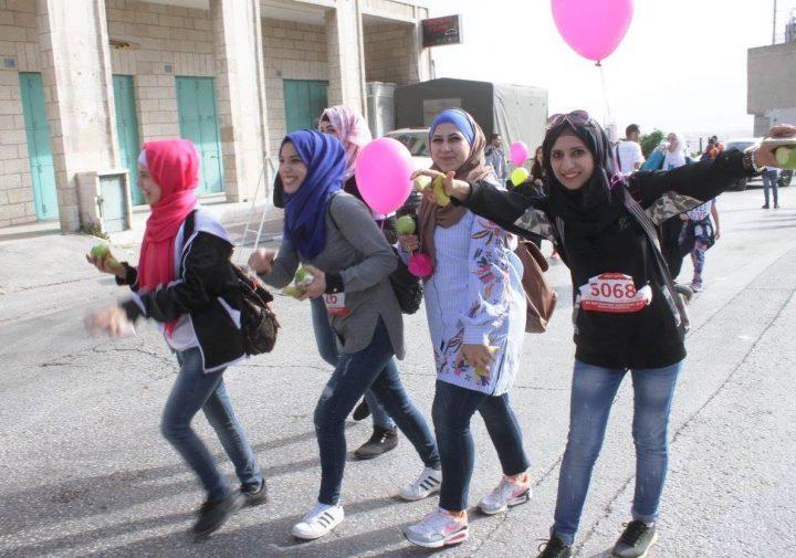 Marathon in Bethlehem – eher ein Spaziergang für das Recht auf Bewegungsfreiheit