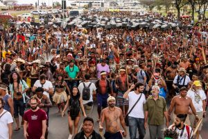 Brasile: Accampamento Terra Libera 2017