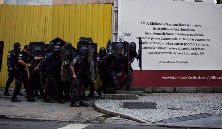 Repressão marca os protestos da Greve Geral ocorrido em todo Brasil.