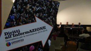 Diritti all'InformAZIONE, presentación del libro de Pressenza en Turín