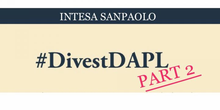Thursday April 27, 2017 #Divest DAPL Campaign