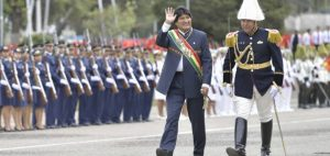 Bolivia calls on the world to repudiate wars and military interventions