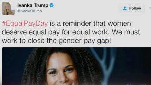 Ο Τραμπ ανακαλεί το Νόμο Μισθολογικής Ισότητας, λίγες μέρες πριν την Ημέρα Μισθολογικής Ισότητας