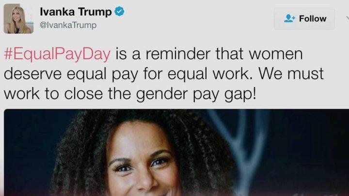 Trump deroga ley de igualdad salarial a días de que se conmemorara el día por la igualdad salarial