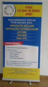 Kinshasa : « Les Amis de Daniel », Premier modèle d'école spécialisée