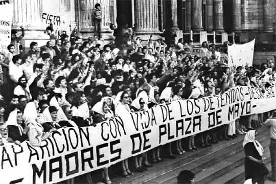As mães da Praça de Maio: 40 anos de luta pelos Direitos Humanos